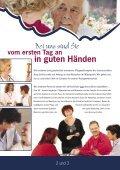 Flyer: Langzeitpflege - Seniorenstift Burg Schlitz - Seite 2