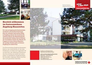 Flyer Seniorenwohnen Augsburg-Haunstetten - Sozialservice ...