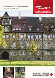 Seniorenwohnen Bürgerheim Rothenburg o.d.T. - Sozialservice ...