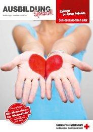 AUSBILDUNG - Sozialservice-Gesellschaft des BRK - Bayerisches ...