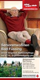 Seniorenwohnen Bad Füssing