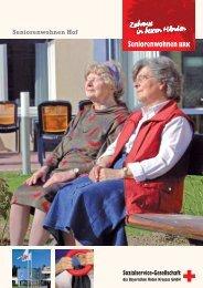 Broschüre Seniorenwohnen Hof (PDF) - Sozialservice-Gesellschaft ...