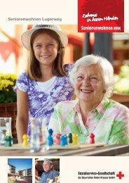 Seniorenwohnen Lugerweg - Sozialservice-Gesellschaft des BRK