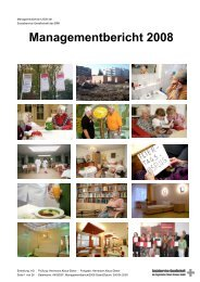 Managementbericht 2008 - Sozialservice-Gesellschaft des BRK