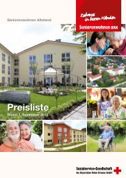 Preisliste_2012 (PDF) - Sozialservice-Gesellschaft des BRK