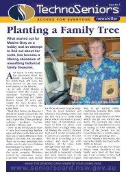 Techno Seniors Newsletter Issue 5 - Seniors Card - NSW Government