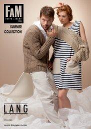 LANG YARNS FaM 198 - SUMMER COLLECTION
