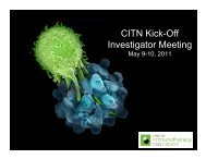 CITN Kick-Off Investigator Meeting - Cancer Immunotherapy Trials ...