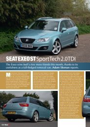 SEAT ExEo ST Sport Tech 2.0 TDI - Adam Sloman