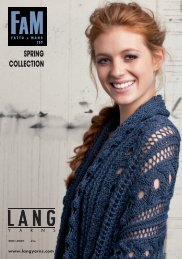 LANG YARNS FaM 197 - SPRING COLLECTION
