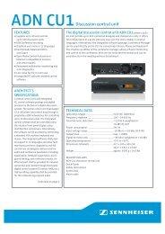 ADN CU1_09_2011.pdf - Sennheiser
