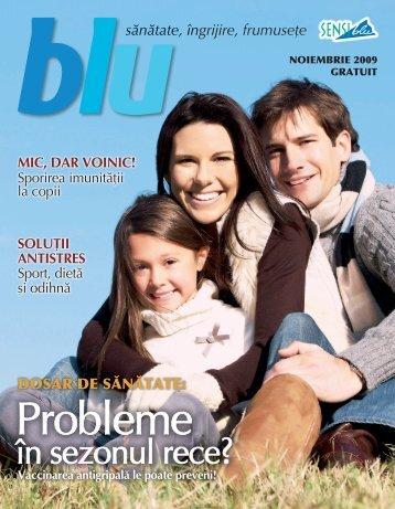 Blu noiembrie 2009 - Sensiblu