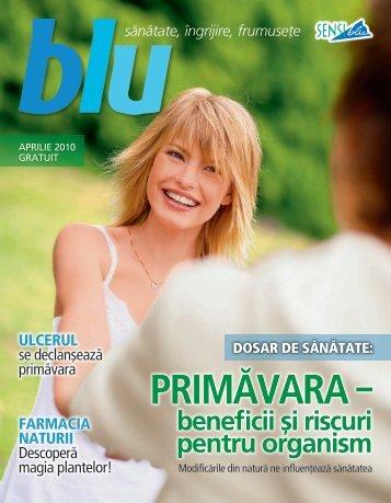 Blu aprilie 2010 - Sensiblu