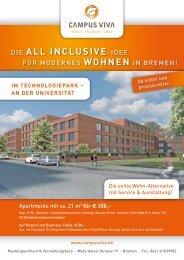 im TechnoloGiepArk – An der univerSiTäT - Campus Viva
