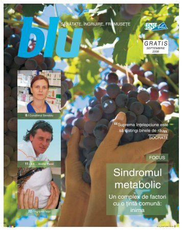 Revista Blu septembrie - Sensiblu