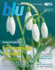 Blu martie 2010 - Sensiblu