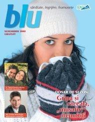 Revista Blu noiembrie - Sensiblu