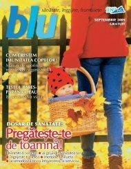 Blu septembrie 2009 - Sensiblu