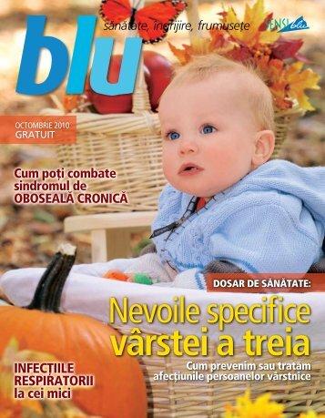 Revista Blu octombrie 2010 - Sensiblu