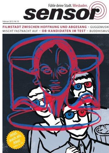 Download (PDF) - sensor Magazin – Wiesbaden