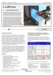 Allgemeine Produktinformation (PDF) - Sensor Instruments