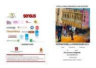 Program (pdf) - Sensus