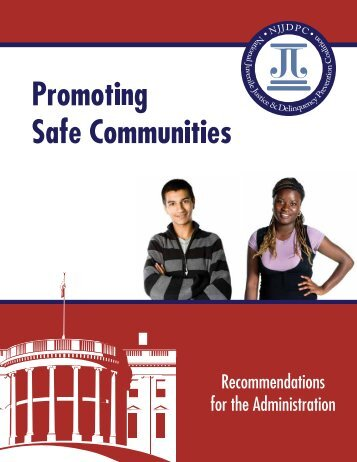 recommendations for juvenile justice reform - The Sentencing Project