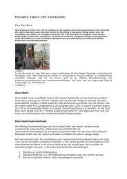 Artikel AKZO Nobel membraanemulsificatie
