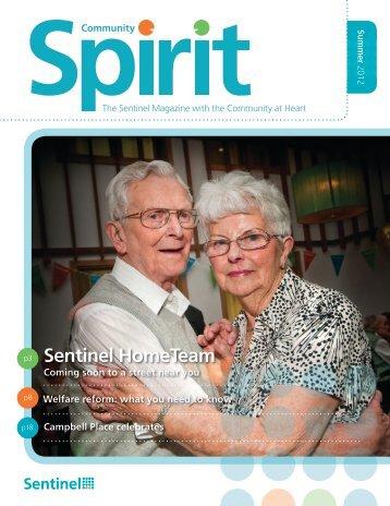 Summer 2012 Community Spirit - Sentinel Housing Association