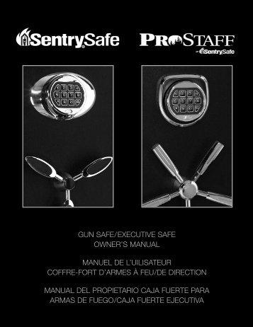 Programming a user code - Sentry® Safe
