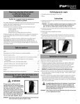 Programming a user code - Sentry® Safe - Page 7