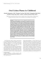 Oral Lichen Planus in Childhood - sepeap