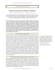 Inhaled Insulin for Diabetes Mellitus - sepeap
