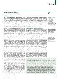 Review Oral renin inhibitors - sepeap