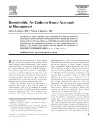 MD Consult - Bronchiolitis: An Evidence-Based Approach to ...