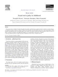 Facial nerve palsy in childhood - sepeap