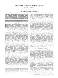 AMERICAN ACADEMY OF PEDIATRICS Neonatal Drug ... - sepeap