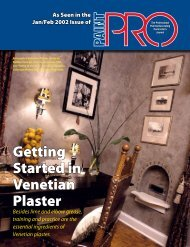 Getting Started in Venetian Plaster - Sepp Leaf Products, Inc.