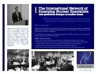 INENS brings together young nuclear professionals from all ... - SEPR