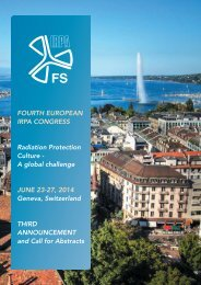 Download the IRPA 2014 3rd Announcement