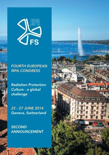 FoURtH EURoPEAn IRPA CongRESS Radiation Protection ... - SEPR