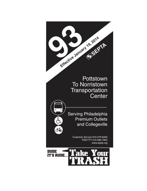 Pottstown To Norristown Transportation Center Septa