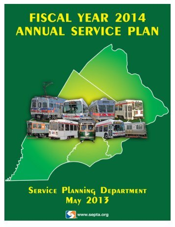 FY 2014 Annual Service Plan - Septa