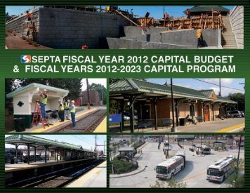 FY 2012 Capital Budget and FY 2012-2023 Capital Program - Septa