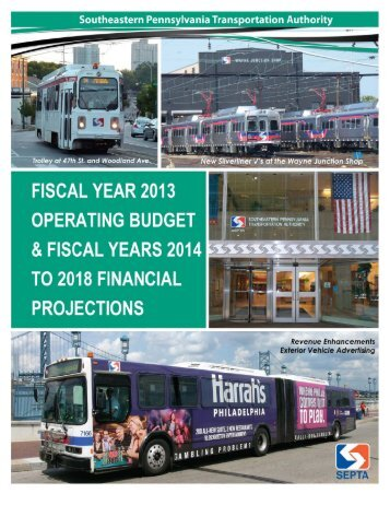 proposed Operating Budget and Financial Plan here - Septa