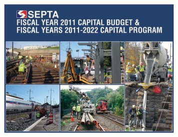 fiscal year 2011 capital budget - Septa
