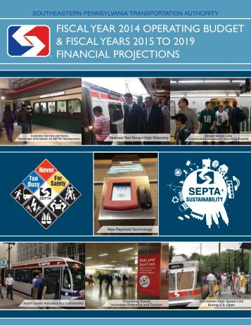 Proposed Operating Budget - Septa