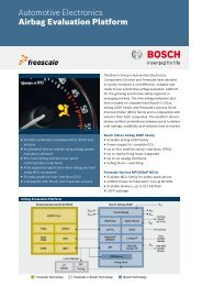 Airbag Evaluation Platform - Bosch Semiconductors and Sensors