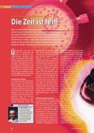 Die Zeit ist reif! Die Zeit ist reif! - Bosch Semiconductors and Sensors