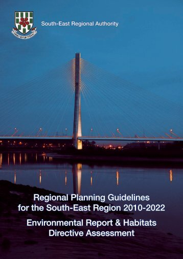 RPG 2010-2022 Environmental Report & Habitats Directive ...